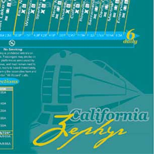 Amtrak Timetable