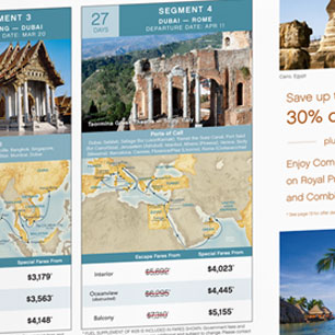 Princess Cruises Direct Mail